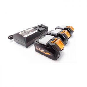 Keyang - BATTPACK184 - Accupack 3x18V 4.0Ah accu + C14439 14.4-18V oplader